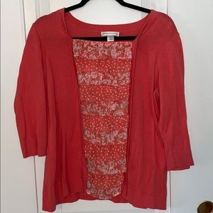 Christopher & Banks sweater blouse